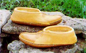Carl Dyer's Center Seam Moccasin