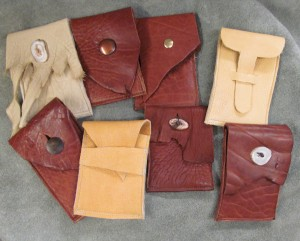Pouches by Carl Dyer's Moccasins