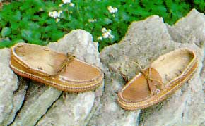 Carl Dyer's Indian Moccasin