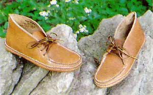 Carl Dyer's Lace Boot Moccasin