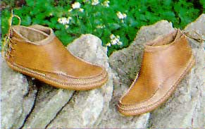 Carl Dyer's Rendezvous Moccasin
