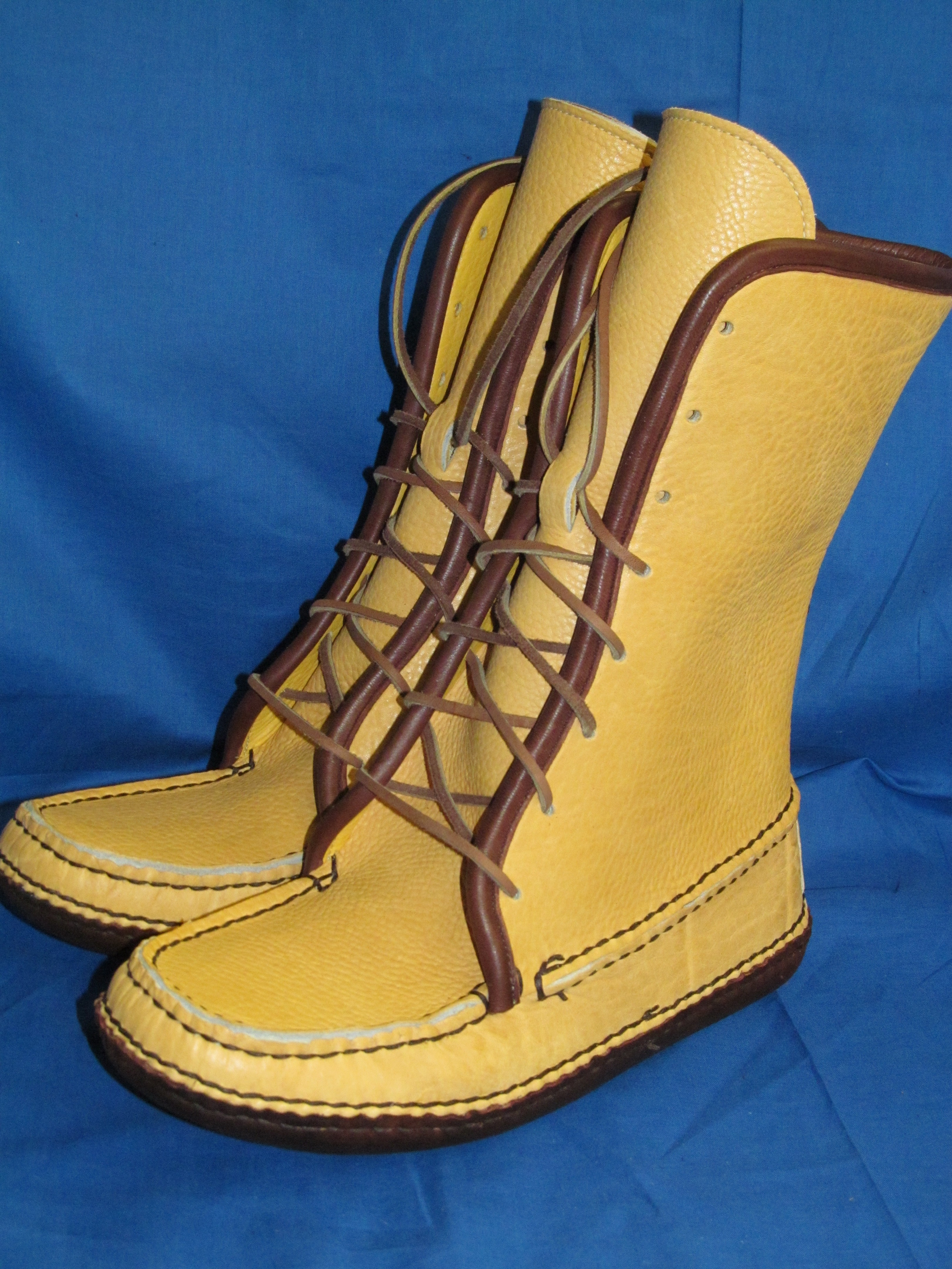 Eight Eye Lace Boot Carl Dyers Original Moccasins