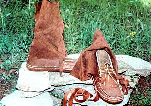 French Canadian Style Wrap Moccasin