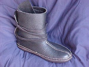 Carl Dyer's Center Seam Wrap Boot Moccasin