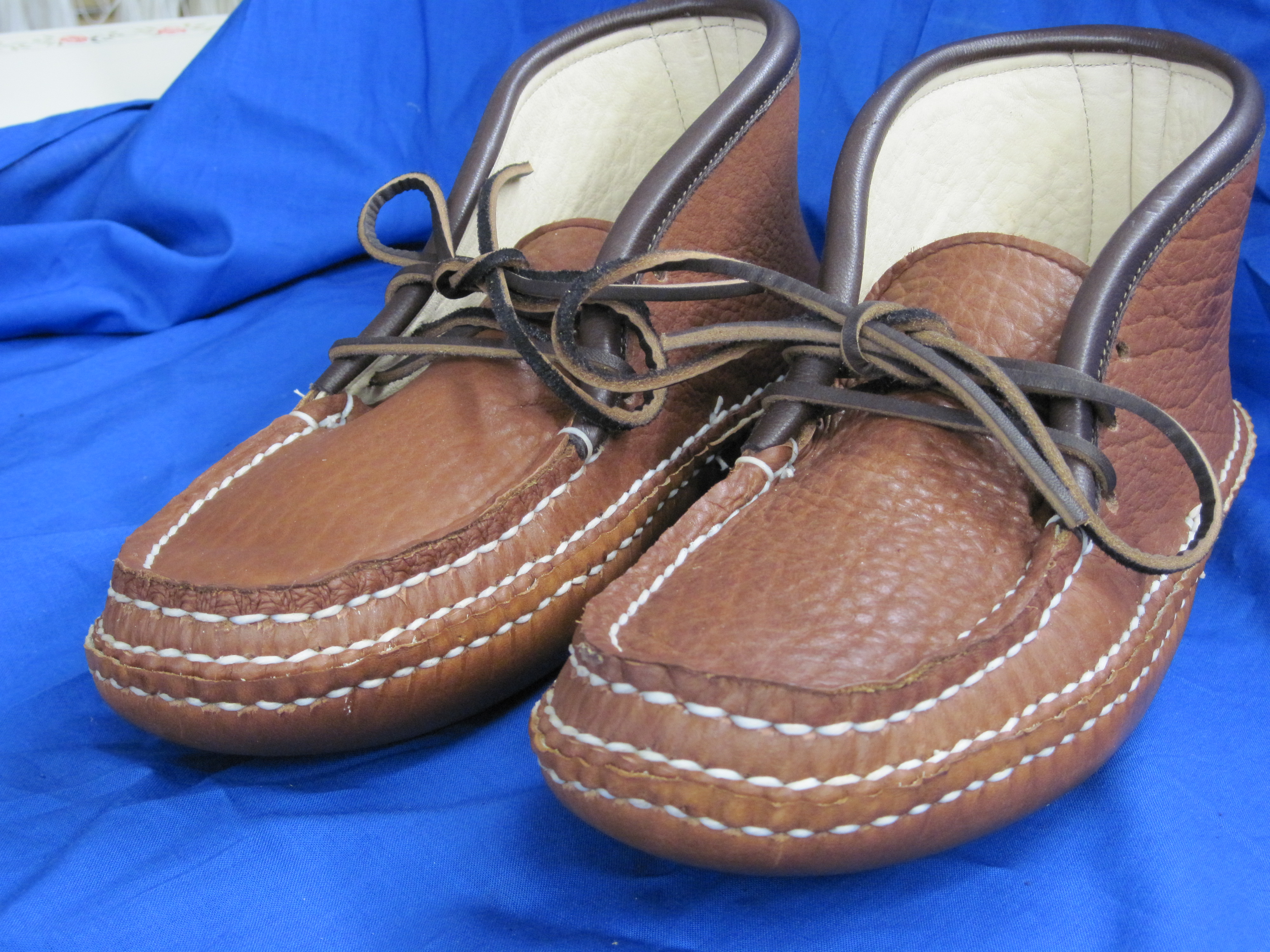 Lace Boots Carl Dyers Original Moccasins