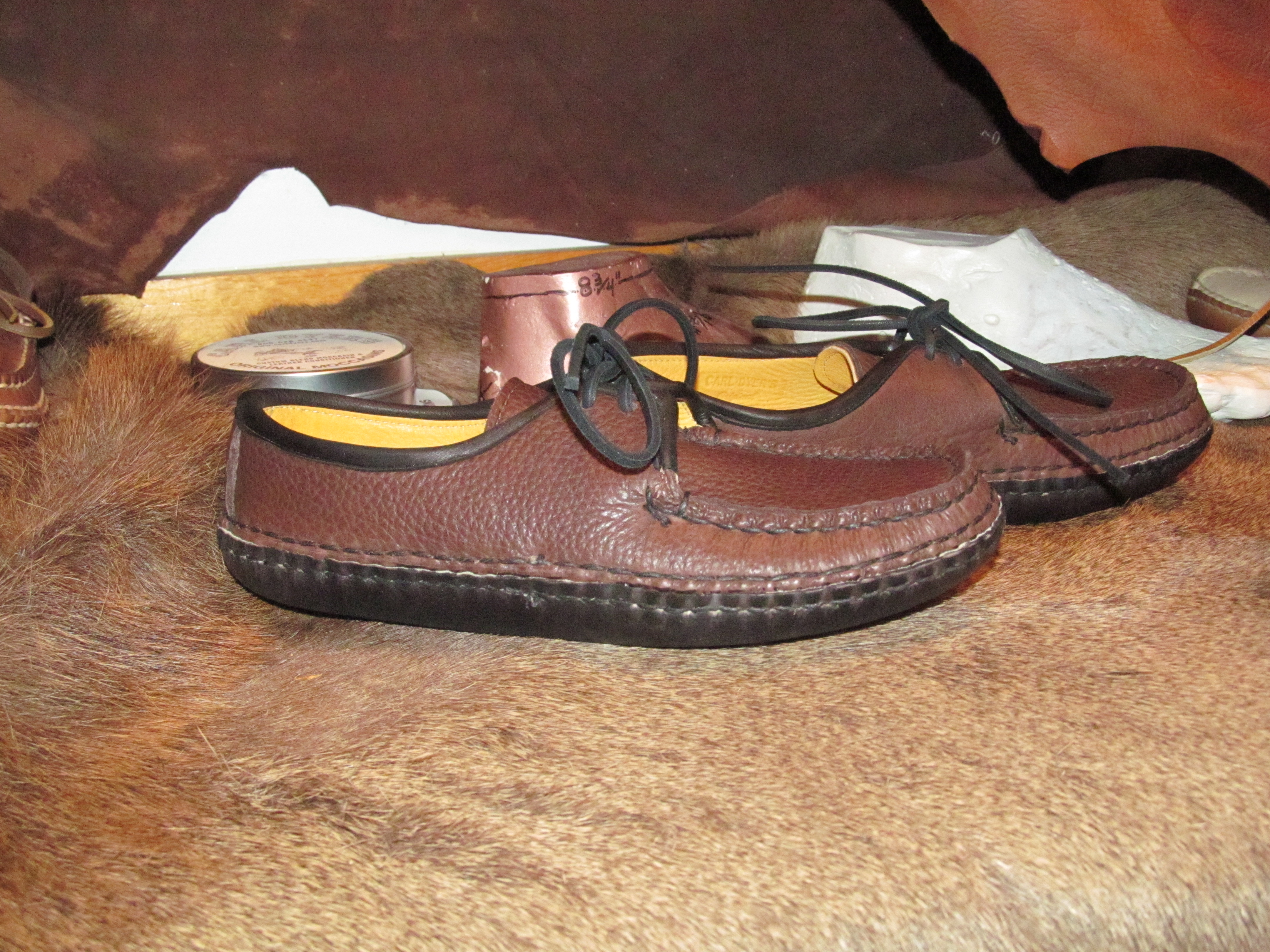 Canoe Moccasin Carl Dyers Original Moccasins